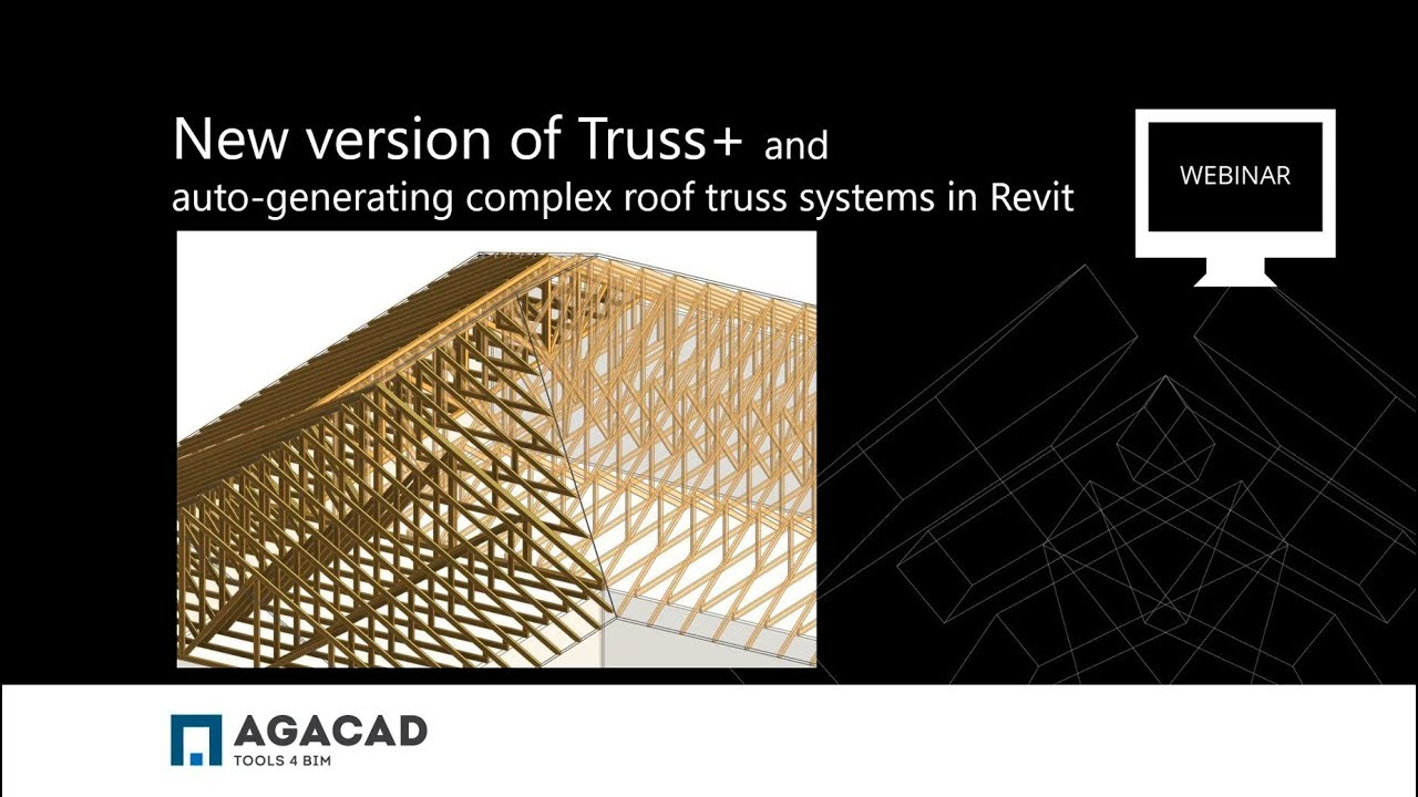 Auto Generate Complex Roof Truss Systems In Revit Youtube