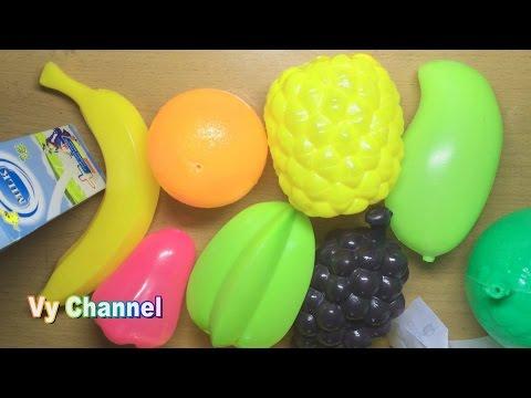Đồ chơi trẻ em - Bé đi siêu thị Shopping cart- Vy Channel