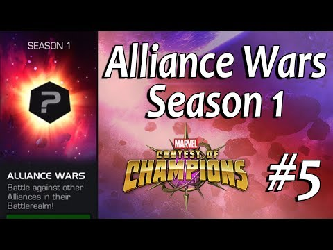 Alliance War #5 - marvel contest of champions