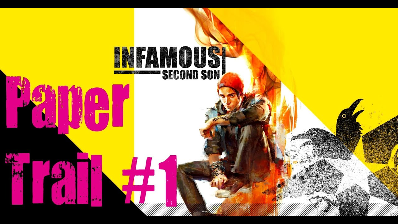 how to connect infamous paper trail to ps4