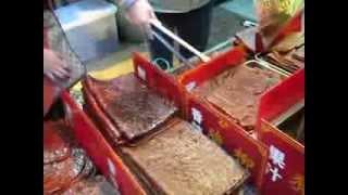 Гид онлайн - Уличная еда в Макао - вкусное вяленое мясо