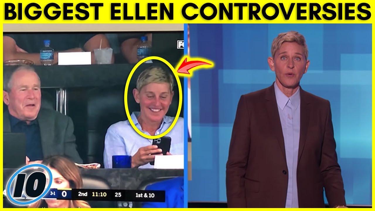 Top 5 Biggest Ellen DeGeneres Controversies Over The Years