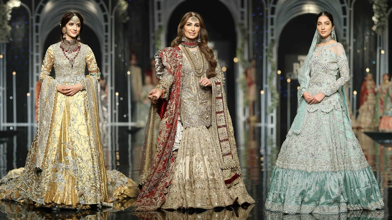 9ac039b38d Top Brands Bridal fashion Week in Pakistan || Best Fashion Week-17,18,2019