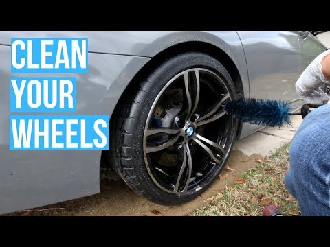 How To Clean Dirty Wheels (BMW M5) - Keep Things Simple!
