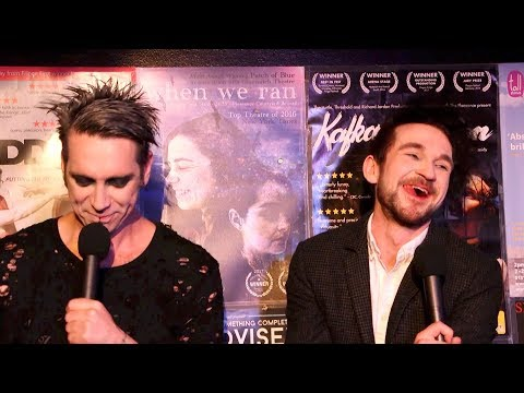 Tape Face | Funny Interview with John Hastings and Colin Cloud