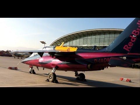 Red Bull stunt JET @ Hangar 7 - Salzburg Austria
