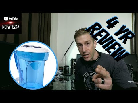 Zero Water Pitcher Review   4 Years of Use