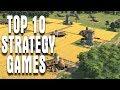 TOP 10 NEW STRATEGY GAMES 2017-2018 RTS War, Civilization Management, City Building