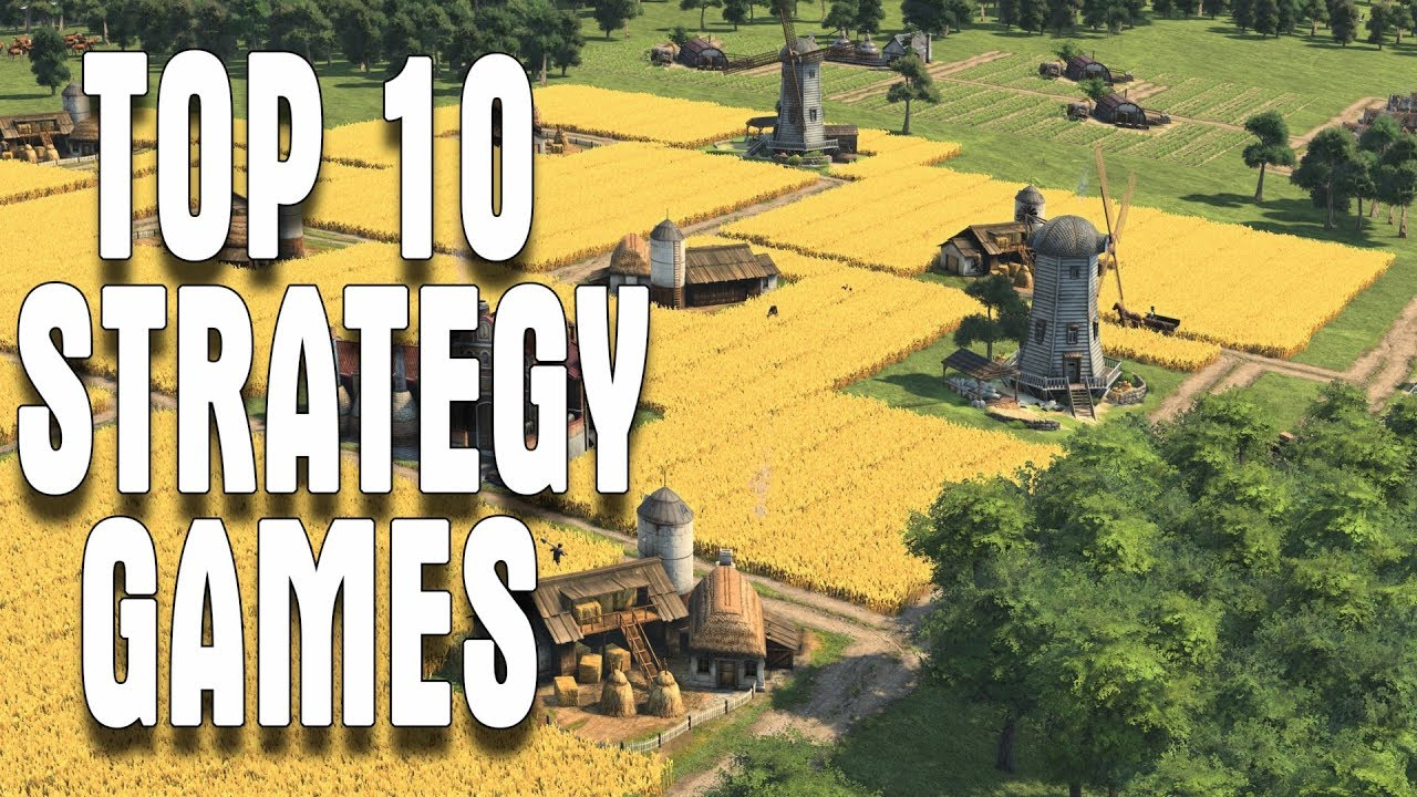 Top 10 New Strategy Games 2017 2018 Rts War Civilization