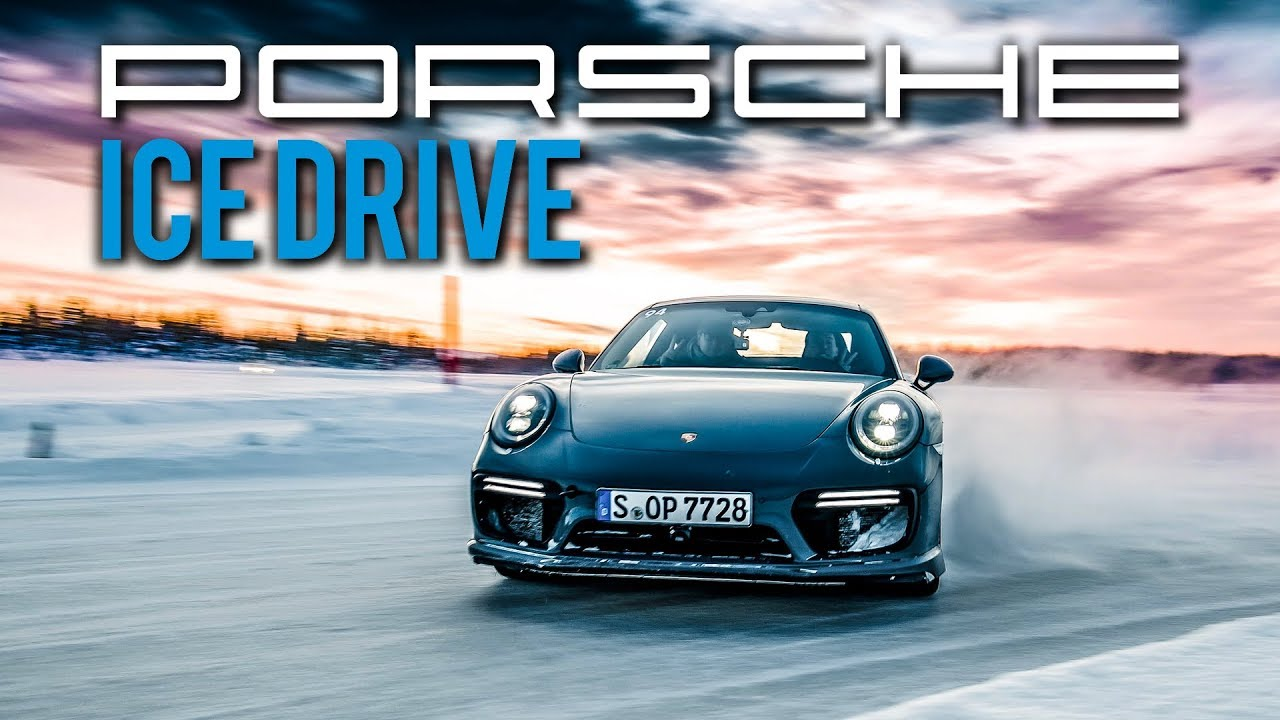 porsche ice drive carporn motorwoche youtube. Black Bedroom Furniture Sets. Home Design Ideas