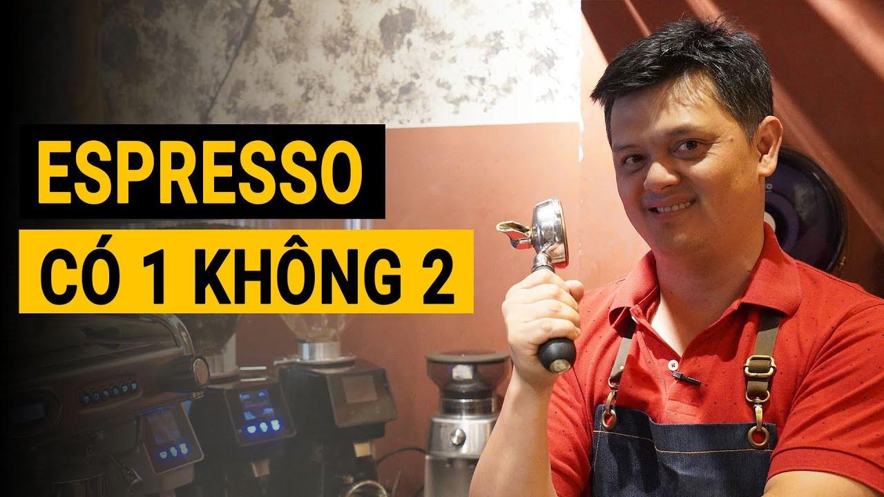 Espresso uống kiểu này mới PHÊ nè