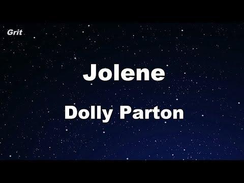 Jolene - Dolly Parton Karaoke 【No Guide Melody】 Instrumental
