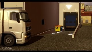 Repeat youtube video Euro Truck Simulator 2 / Backing up