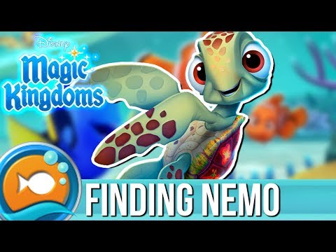 LET'S WELCOME SQUIRT | Disney Magic Kingdoms | Finding Nemo Event | #4