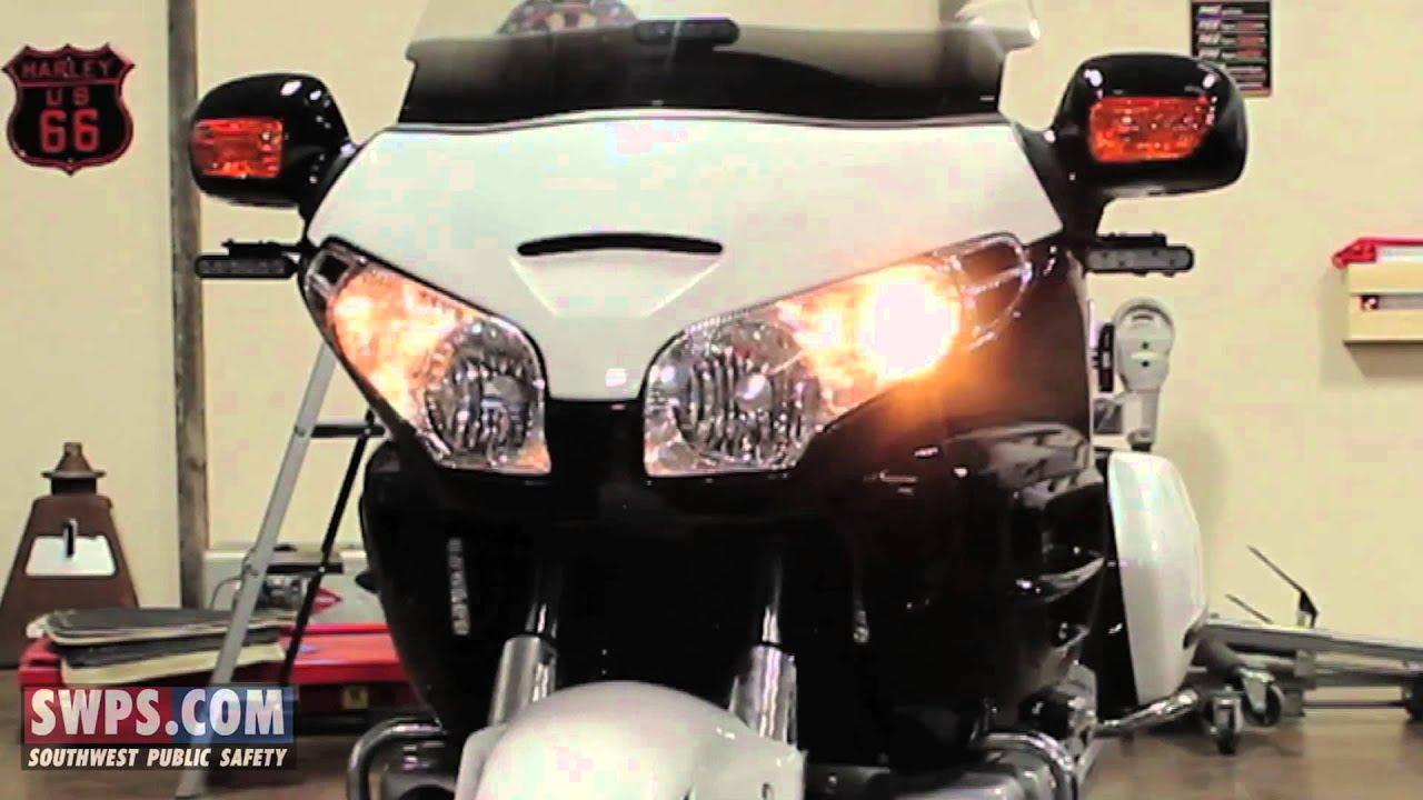 Kawasaki Police Motorcycle Lights