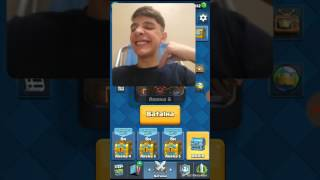 But a video only with my face (clash royale # 6