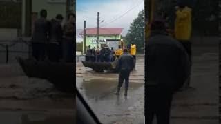 FOTO VIDEO Dezastru in judetul Galati