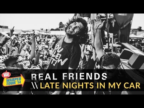 Real Friends - Late Nights In My Car (Live 2014 Vans Warped Tour)