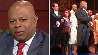 David Webb accuses 'Hamilton' cast of hypocrisy