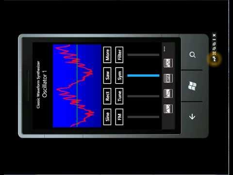 Windows Phone Music Synthesizer
