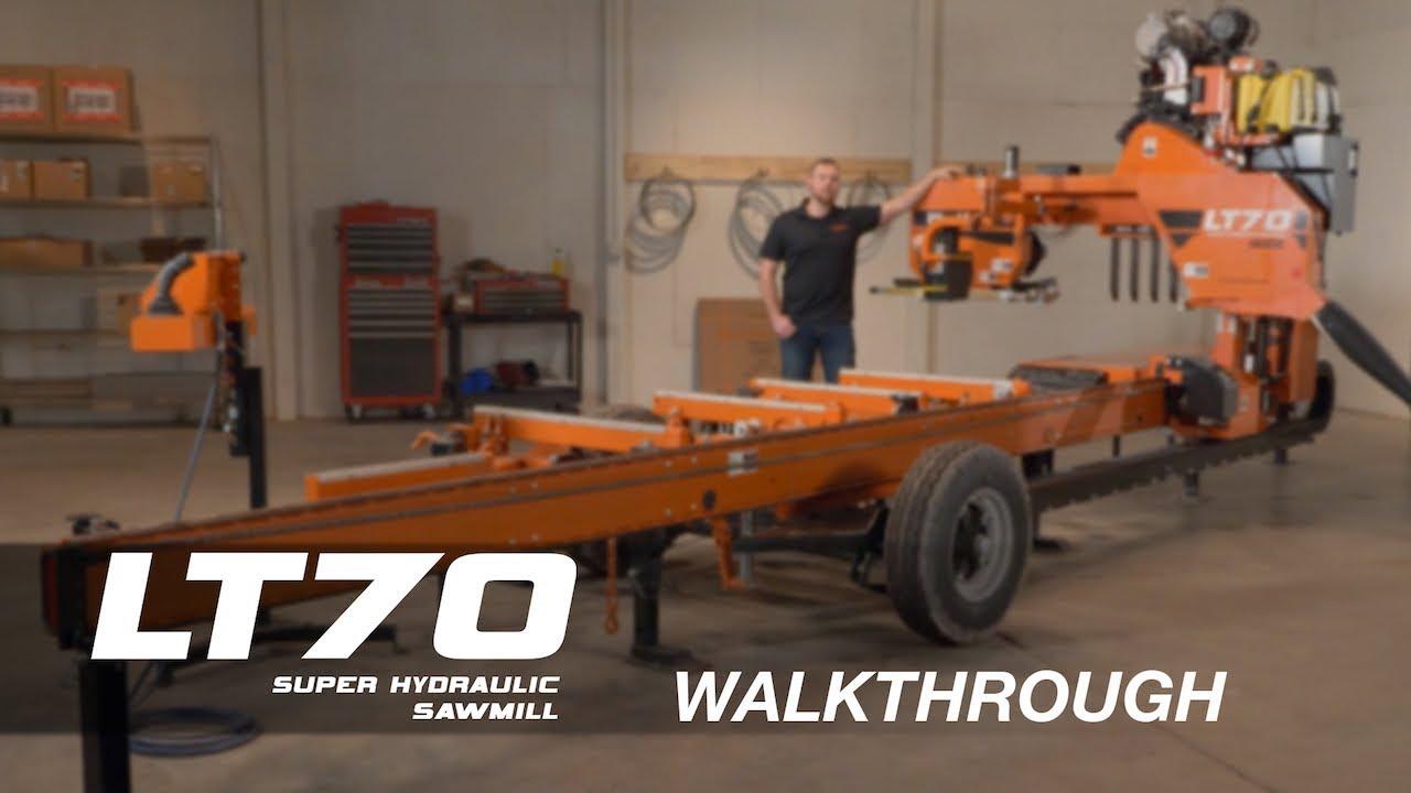 LT70 Super Hydraulic Portable Sawmill Walkthrough | Wood-Mizer