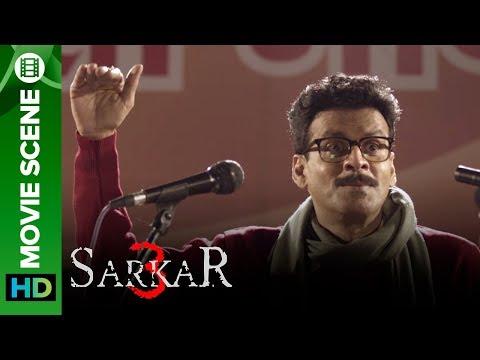 Funniest Speech by Manoj Bajpayee against Sarkar 'Amitabh Bachchan' | Sarkar 3 streaming vf