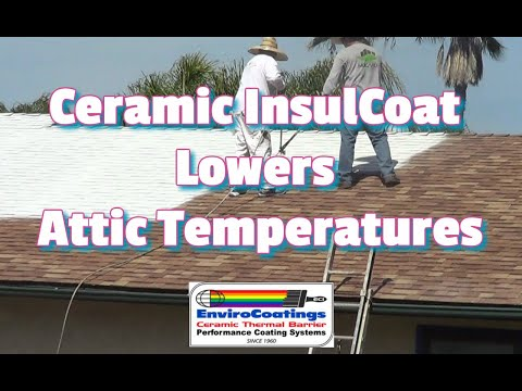 Gardner 5 Gal Sta Kool Elastomeric White Reflective Roof Coating Sk 7705 The Home Depot
