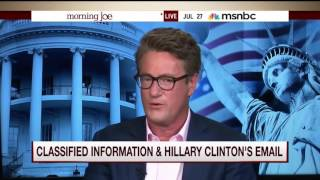 MSNBC Fact Checks Hillary's Lies About Her Classified Emails
