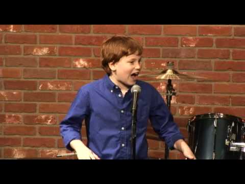 10 year old comedian online dating joke