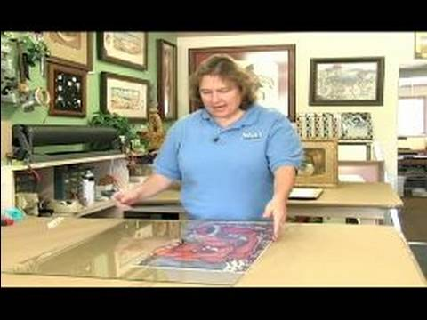 All About Picture Framing How To Cut The Glass On Your Picture