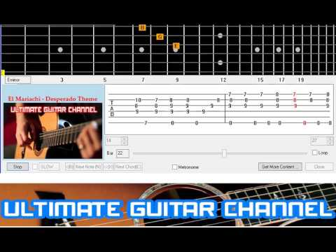 Guitar Solo Tab] El Mariachi - Desperado Theme (Antonio Banderas ...