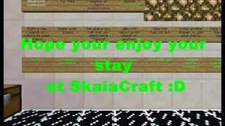 Repeat youtube video Minecraft 1.8.9 Cracked Server SkaiaCraft(Minigames:HungerGames,Paintball,SkyWars,KitPvP,Parkour)
