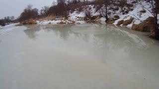 Зимняя рыбалка в феврале сел в лужу серия 2