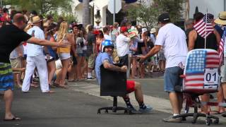 San Clemente Office Chair Races 2013