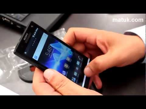 Unboxing: Xperia S de Sony Mobile