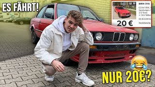 Ich KAUFE das GÜNSTIGSTE AUTO der Welt! (nur 20€)
