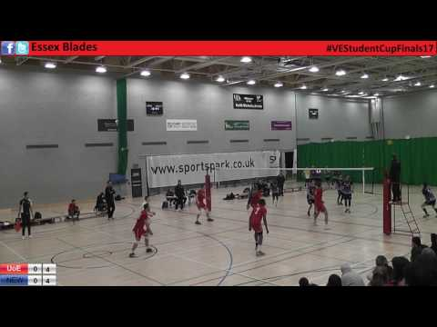 Essex v Bournemouth Men's Student Cup Finals 2017