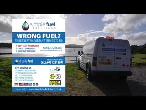 Wrong Fuel Glasgow - Fuel Assist Drainage Services Scotland