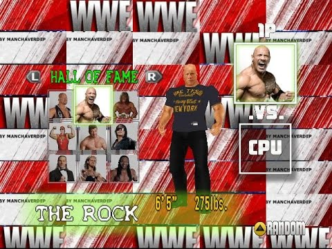 WWF no mercy mod 2k15 moore new suff!