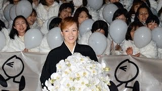 5月に退団する宝塚歌劇団花組のトップスター蘭寿とむさん=西宮市=が...