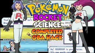 Pokemon Rocket Science - Gba Hack With Fairy Type,Play As Team Rocket,New Story & Much More!