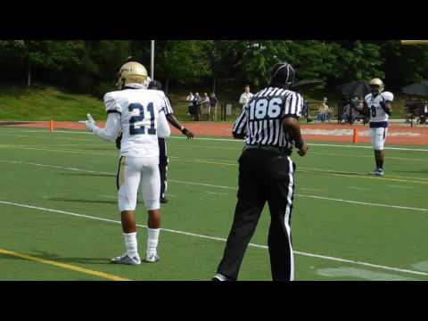 McNeil called for pass interference Good Counsel/Mount St. Joseph football 09/03/16