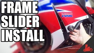 Gambar cover How To Install Frame Sliders / Crash Protection!