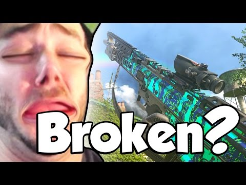 BROKEN NEW GUN! (Call of Duty: Modern Warfare Remastered B0S14)
