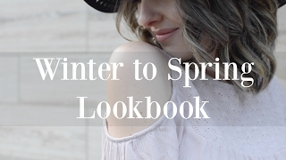Winter to Spring Lookbook 2017 ♡ NaturallyThriftyMom