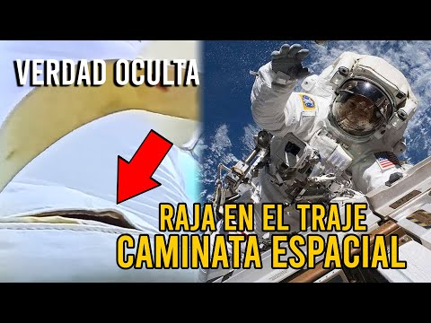 """TIENES QUE VERLO """"RAJA EN EL TRAJE"""" DURANTE CAMINATA ESPACIAL"""