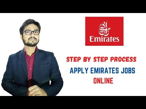 How To apply for Emirates airlines for GROUND STAFF or CABIN CREW - step by step