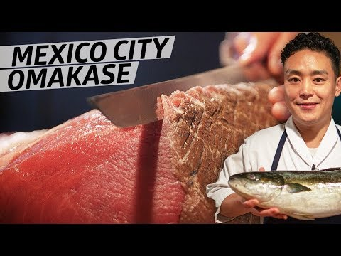 Master Sushi Chef Daisuke Maeda Serves his Baja Fish Omakase in Mexico City — Omakase