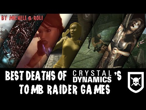 Best Deaths of Crystal Dynamics' Tomb Raider Games (2000 subscribers special)