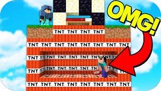 Video INVISIBLE HIDDEN TNT TRAP! (Minecraft BED WARS TROLLING) download MP3, 3GP, MP4, WEBM, AVI, FLV Maret 2018